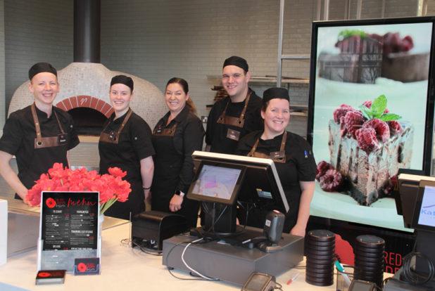 The friendly Red Poppy Brasserie Team